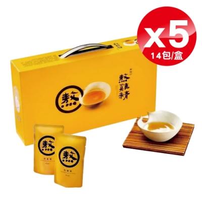 (5入組) 老協珍 熬雞精-14入×5盒