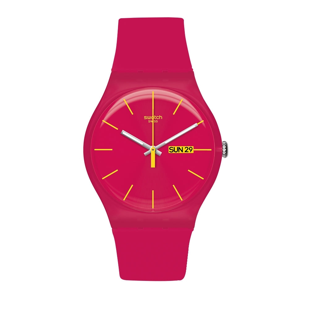 Swatch Rebel Aagin 系列手錶 RUBINE REBEL 反叛粉紅 product image 1