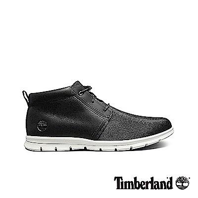 Timberland 男款黑色舒適輕便戶外透氣休閒鞋|A1OG8