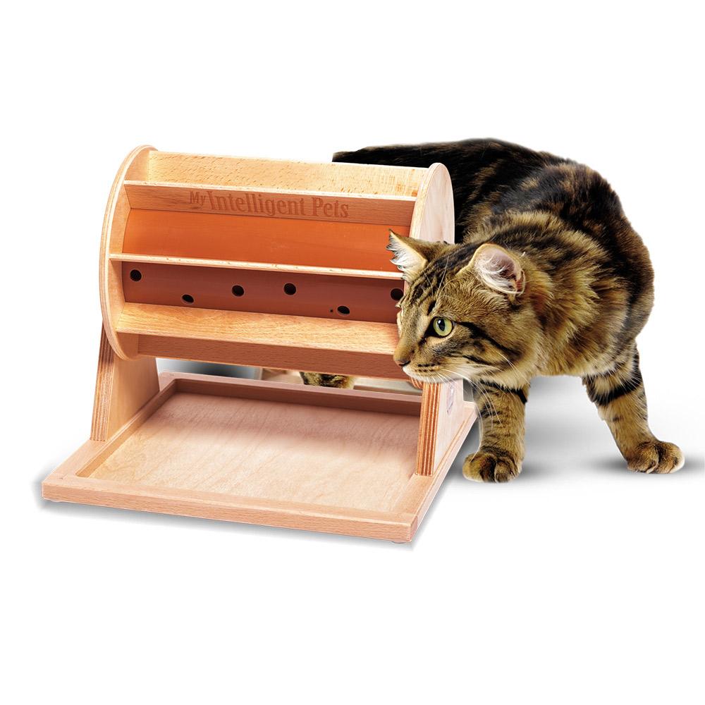 【靈靈狗】貓咪幸運輪 - 寵物桌遊/益智玩具/互動遊戲