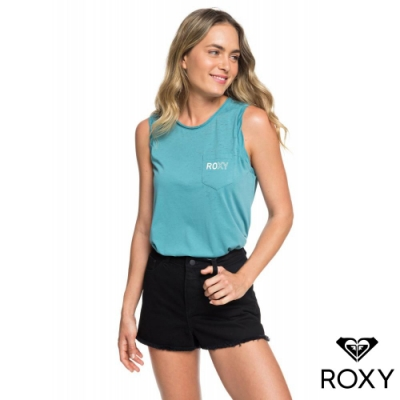 【ROXY】SUNS SHADOW BLACK 牛仔短褲 黑