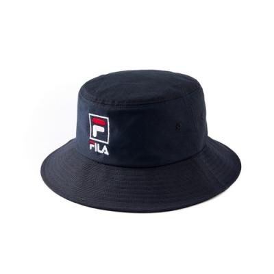 FILA 時尚筒帽-黑 HTV-1203-BK