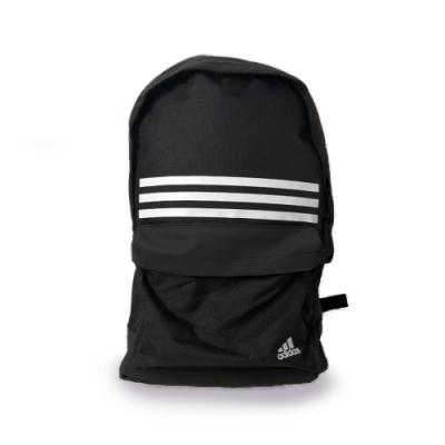 adidas 後背包 休閒 運動 雙肩包 黑 DT2616 3 Stripes Pocket BKPK