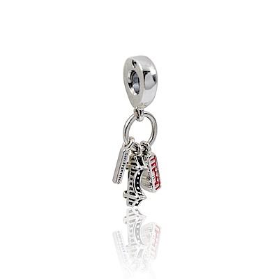Pandora 潘朵拉 魅力舊金山琺瑯 垂墜純銀墜飾
