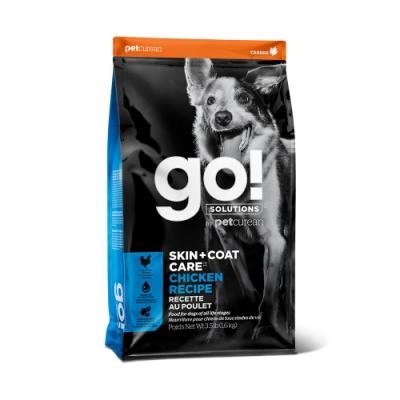 Go! 雞肉蔬果 3.5磅 狗狗 皮毛保健