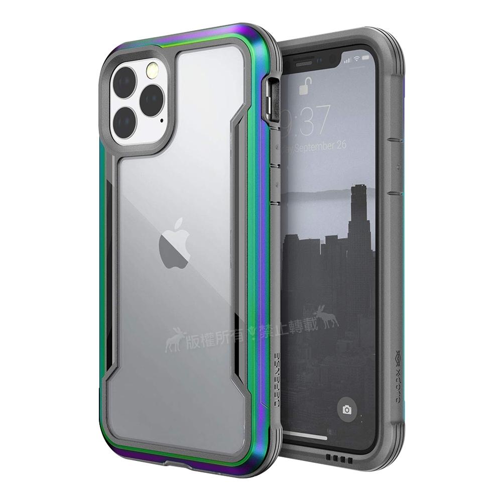 DEFENSE 刀鋒極盾Ⅲ iPhone 11 Pro Max 耐撞擊防摔手機殼(繽紛虹)