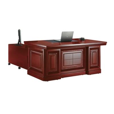 柏蒂家居-西格5.9尺L型主管辦公桌組-176x90x76cm