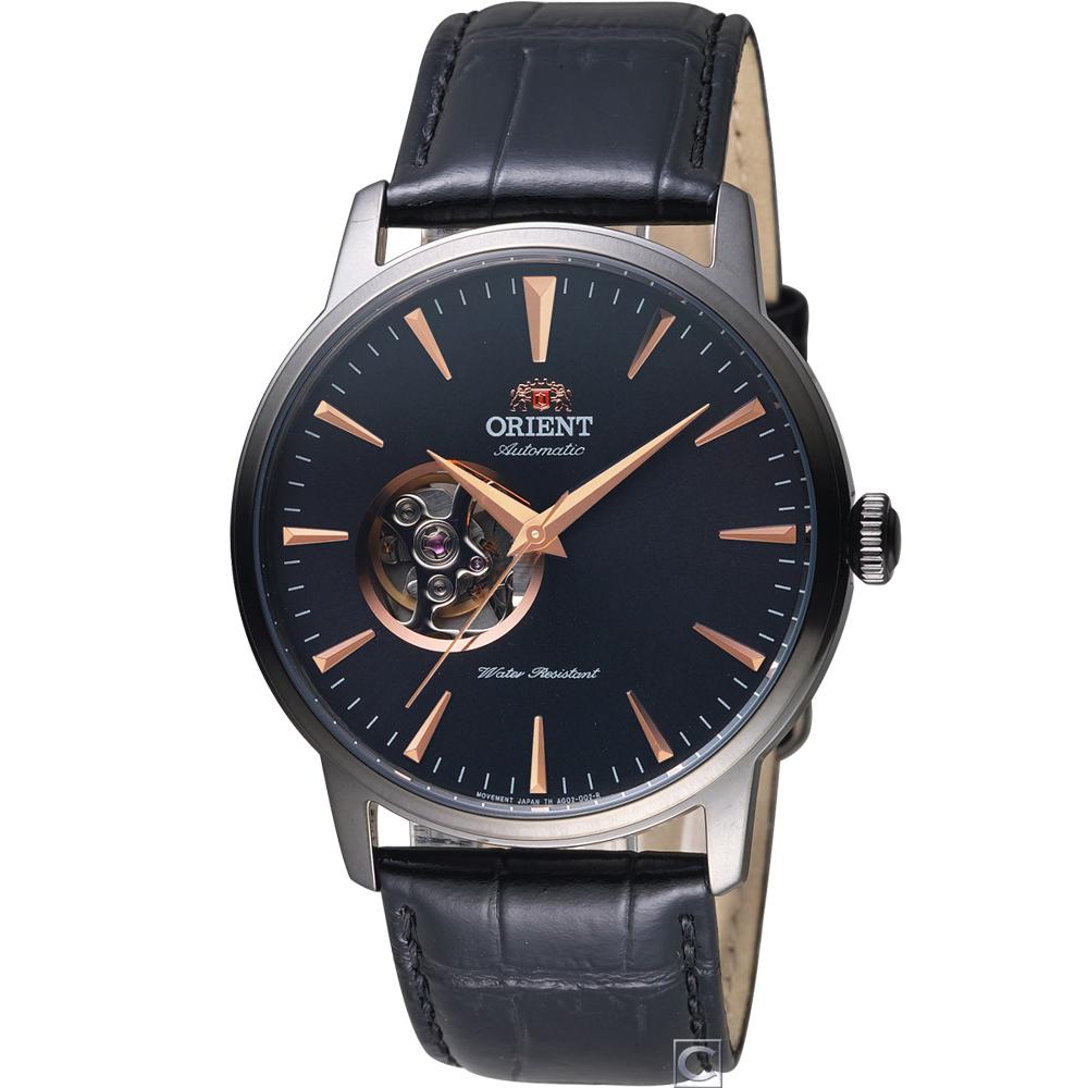 ORIENT 東方錶 尊爵半鏤空機械錶(FAG02001B)