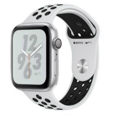 Apple Watch Series4 Nike+ 44mm GPS版配白色Nike運動錶帶