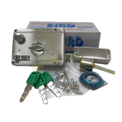 LI016 BIRD 分離式三段鎖 單開不銹鋼 不銹鋼三段鎖 隱藏式門鎖 輔助鎖 補助鎖