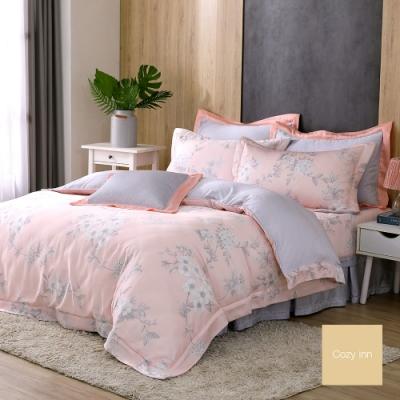 Cozy inn 春日風光 雙人加大 300織萊賽爾天絲兩用被套床包組