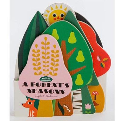 Bookscape Board Books:A Forest s Seasons 森林四季造型書