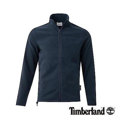 Timberland 男款深藍寶石色保暖抓絨外套|A1NE2