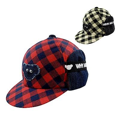 WHY AND 1/2 mini 兩用遮耳棒球帽 多色可選