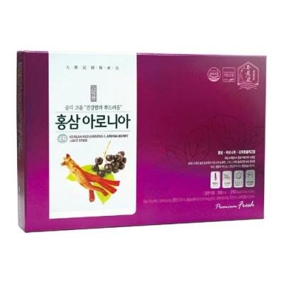 【大東】紅蔘野櫻莓飲(10ml/30入/盒)-韓國原裝進口