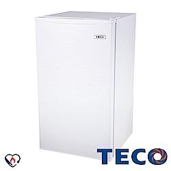 TECO東元 99L 1級定頻單門電冰箱 R1091W