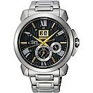 SEIKO精工 Premier 人動電能萬年曆限量手錶(SNP155J1)-42.9mm