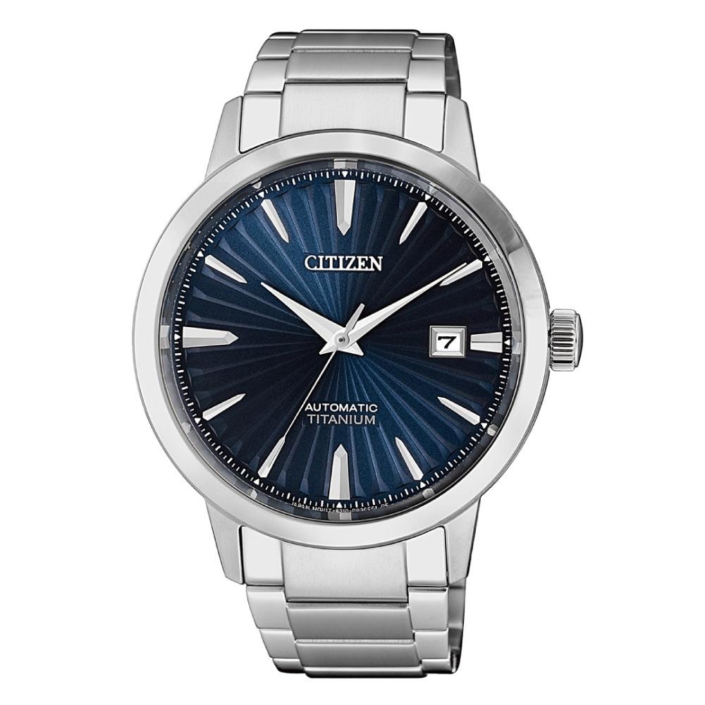 CITIZEN星辰 紳仕氣度鈦金屬機械腕錶NJ2180-89L