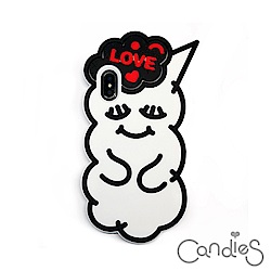 Candies 睡眠寶寶(Love黑)-IPhone X/XS 5.8吋適用