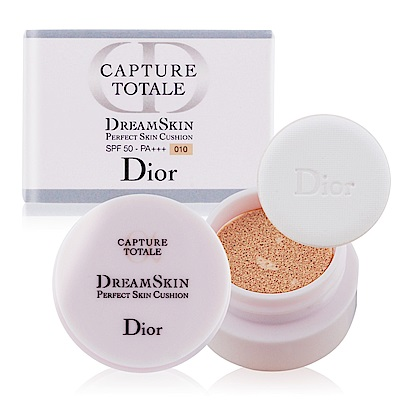 Dior 迪奧 夢幻美肌氣墊粉餅 SPF50 PA+++4g#010