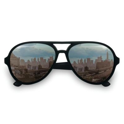 美國Hipsterkid 抗UV時尚嬰兒童偏光太陽眼鏡(附固定繩) - 飛行員