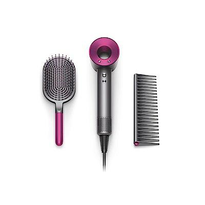 [免費禮物包裝] Dyson Supersonic 吹風機 附專用按摩髮梳及順髮梳 雙梳