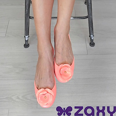 Zaxy 巴西 女 START IV 山茶花蕊娃娃鞋 (粉紅)