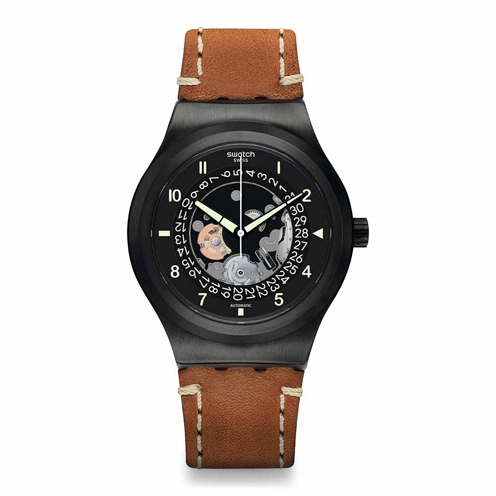 Swatch 51號星球 機械錶 SISTEM THOUGHT 大思想家 -42mm