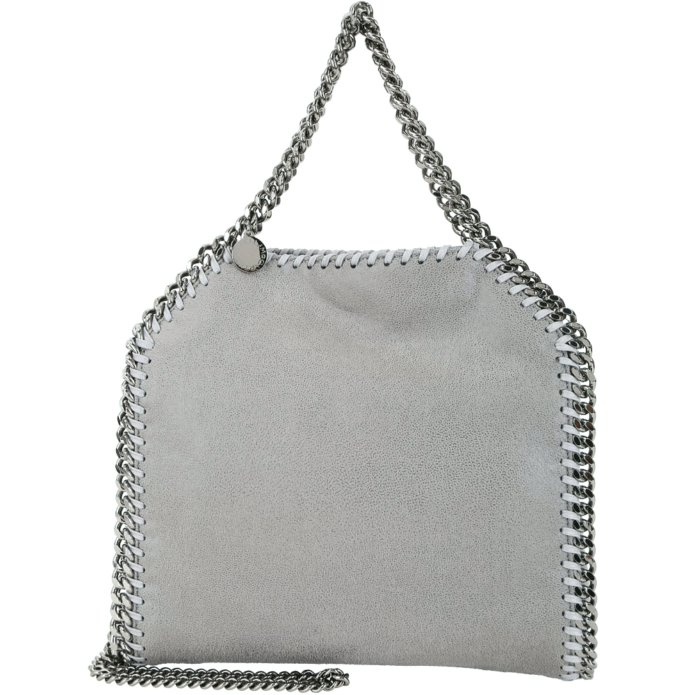 Stella McCartney Falabella Deer 小款 兩用鍊帶包(灰色)