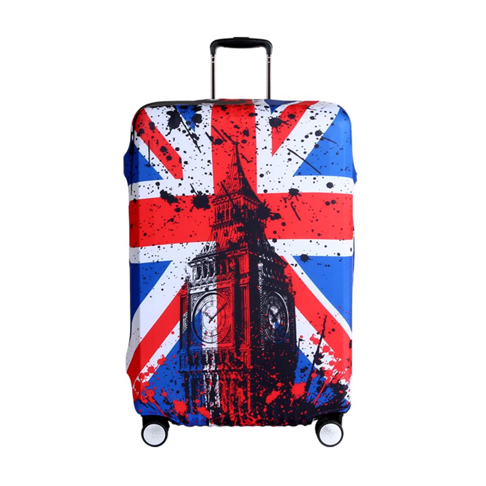高彈性行李箱套 適用26-29吋-倫敦國旗