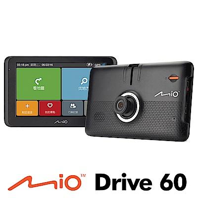 Mio MiVue Drive 60五合一行車記錄導航機-急速配