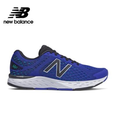 【New Balance】輕量跑鞋_男性_藍色_M680CT6-2E楦