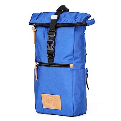GMT 挪威潮流品牌 多功能單車休閒側背包-藍色