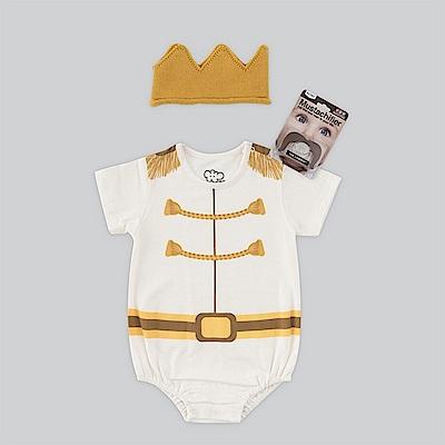 日安朵朵 男嬰經典禮盒組-白馬王子(長短袖衣 帽 奶嘴)