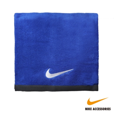 NIKE耐吉 FUNDAMENTAL TOWEL 大浴巾-藍色