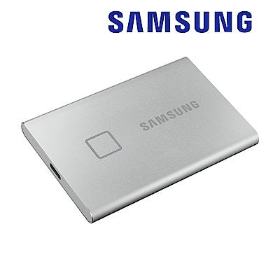 SAMSUNG 三星T7 Touch 1TB USB 3.2 Gen 2移動固態硬碟 時尚銀 (MU-PC1T0S/WW)