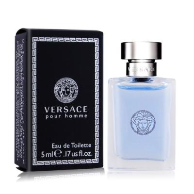 *Versace Pour Homme 經典男性淡香水5ml EDT-國際航空版