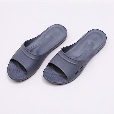 維諾妮卡 嚴選Q彈家居拖鞋-灰色