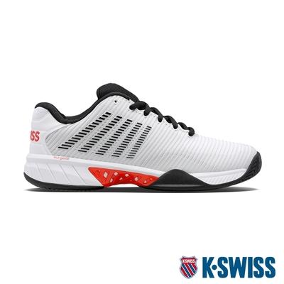 K-SWISS Hypercourt Express 2透氣輕量網球鞋-男-白/黑/紅