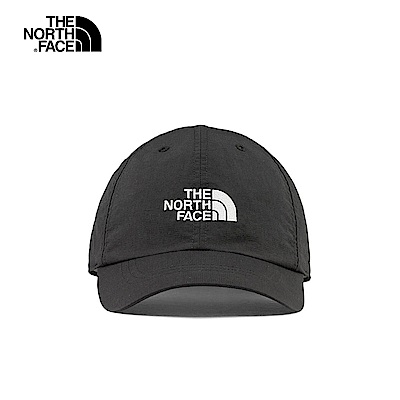 The North Face北面男女款黑白色LOGO防曬透氣運動帽(顏色隨機)|CF7WJK3