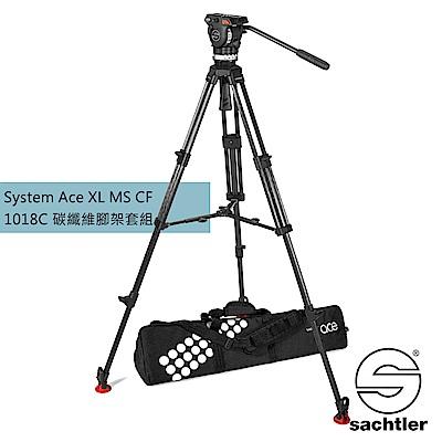 沙雀Sachtler 1018C AceXL MS CF錄影油壓碳纖維三腳架套組[公司貨]