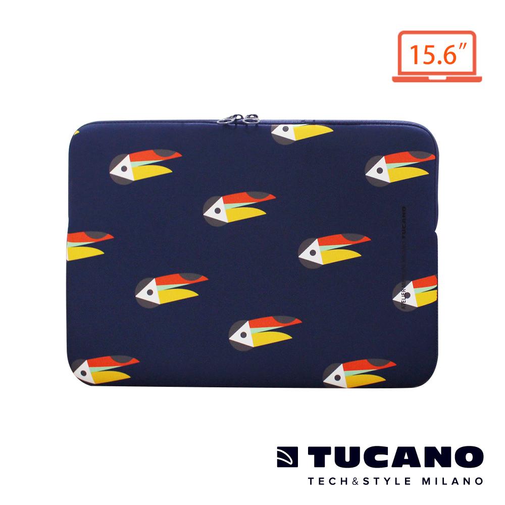 TUCANO X MENDINI 時尚設計筆電包15.6吋-大嘴鳥藍