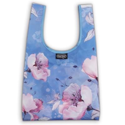 murmur 便當包/小購物袋│粉藍花