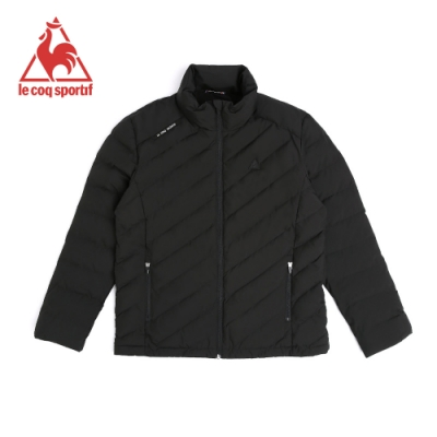 法國公雞牌鋪棉外套 LNI6158199-男-黑