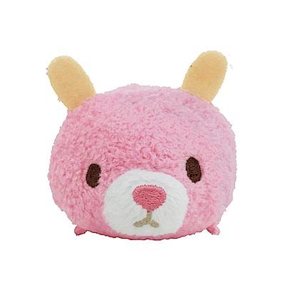 動物樂園公仔螢幕擦護 腕墊。粉紅兔 UNIQUE