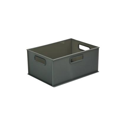 完美主義 附蓋塑膠收納盒-4/1款3入組/收納箱/玩具收納(2色)