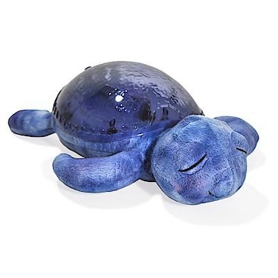 美國cloud b 寶貝舒眠星光音樂夜燈-紫色海龜 7423-PR