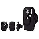 PUSH!戶外休閒用品運動臂包跑步健身包U55黑色