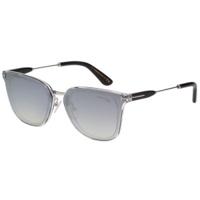 TOM FORD 中性款 水銀面 太陽眼鏡(銀色)TF726K