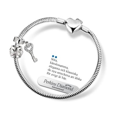 PERKINS 伯金仕 - party系列 925純銀珠飾手鍊